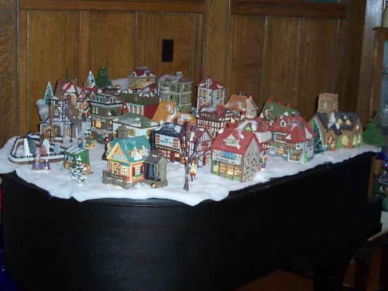 Granville, NY: Dickens Village on the Baby Grand