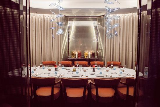 Private Dining Room - Picture of Bulgari Hotel, London, London ...