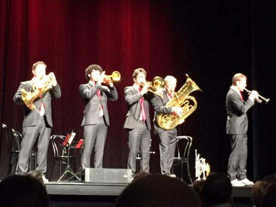 Capitol Center for the Arts: Canadian Brass, View from Left Orchestra, Row J Seat #5