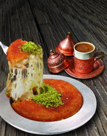 Mafraq Hotel Abu Dhabi: Turkish Kunafa And Turkish Coffee