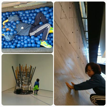 Contemporary Arts Center : Fun afternoon with kids.