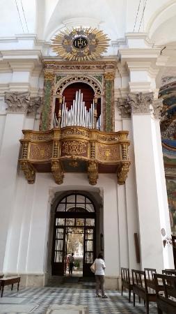 Duomo Spoleto; Organ Pipe