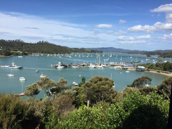 Crows Nest Villas: look out at the harbour
