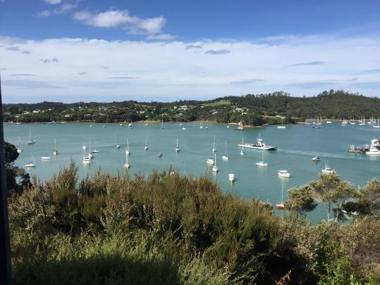 Crows Nest Villas: looking out at the harbour