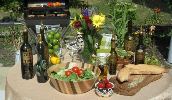The Olive Twist Oil and Vinegar Tasting Bar