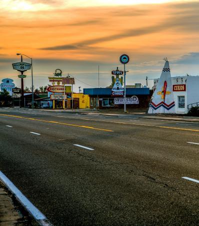 Super road trip for Spingbreak 2016! - Picture of Route 66 Monument,  Tucumcari - Tripadvisor