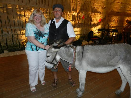 Malta Nights Extravaganza: Me and the donkey