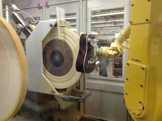 Nazareth, PA: buffing machine