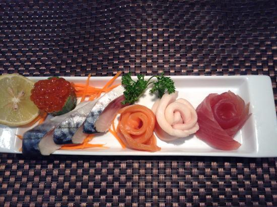 Soho Sushi Lounge: great presentation