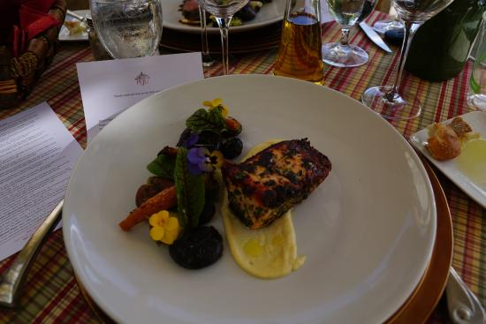 Резерфорд, Калифорния: We were able to have a chef serve us personally a delicious lunch outside