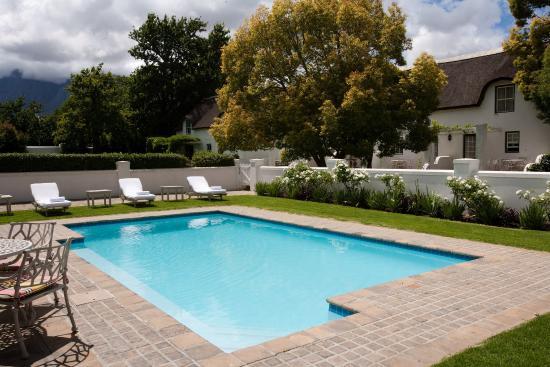 Erinvale Estate Hotel: Spa Outside