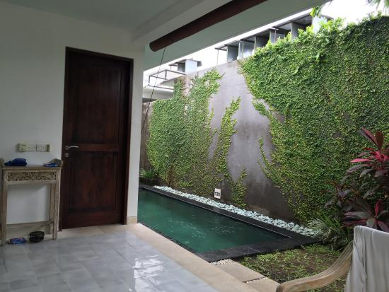 looking back out at pool picture of new pondok sara villa rh tripadvisor com