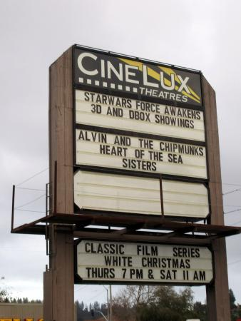 Скоттс-Вэллей, Калифорния: Cinelux Scotts Valley Cinema, Mount Hermon Road, Scotts Valley, Ca