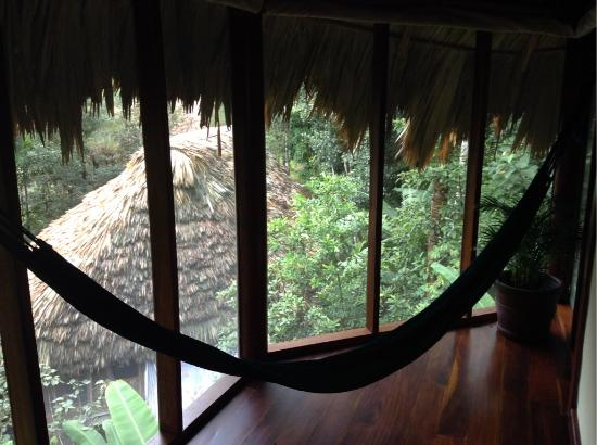 Blancaneaux Lodge: lazy hammock