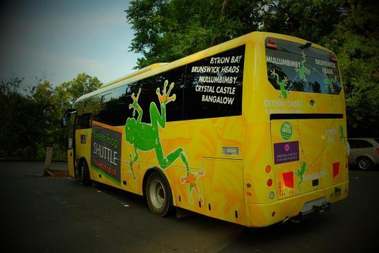 Green Frog Shuttle