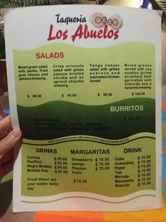 taqueria los Abuelos: photo1.jpg