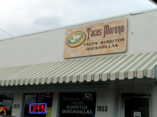 Tacos Moreno, Water Street, Santa Cruz, Ca