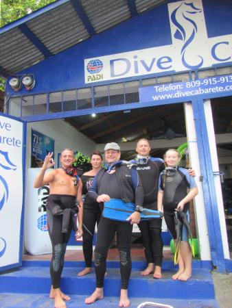 Cabarete, República Dominicana: Getting ready for my first dive at Cab