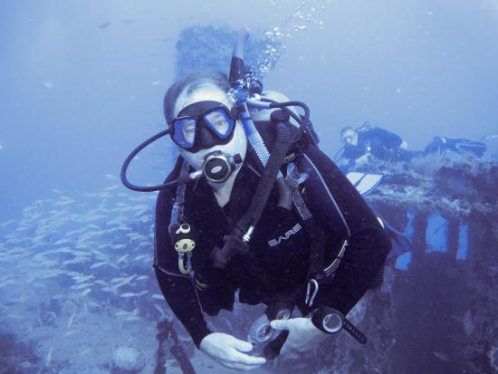 Cabarete, República Dominicana: Great dive