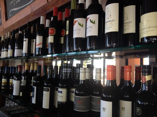 Central Hotel Bistro: Great wine selection