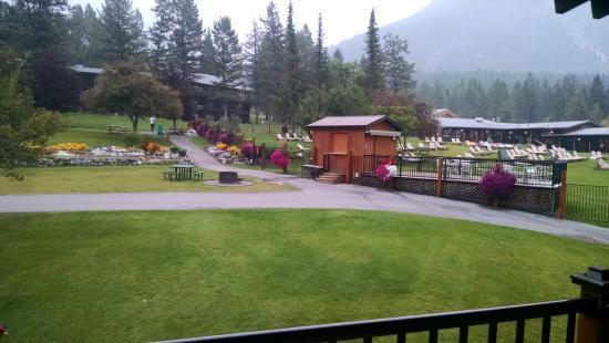 Fairmont Hot Springs, Canada: view
