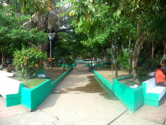 Magangue, Colombia: plaza