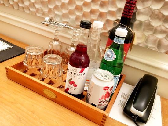 Bertrams Guldsmeden - Copenhagen: Organic drinks