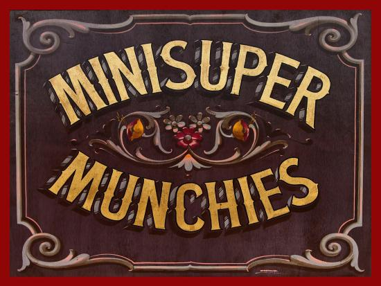El Pescadero, Μεξικό: MINI SUPER MUNCHIES
