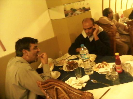 Usmania Restaurant: I with Ali Jessani having dinner