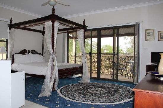 Willow Tree Estate: One of the immaculate rooms upstairs