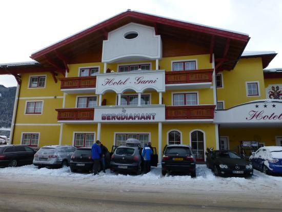 Hotel Garni Bergdiamant: Eingangsbereich vom Hotel