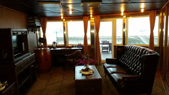 Living Room Picture Of Vintage Luxury Yacht Hotel Yangon Rangoon