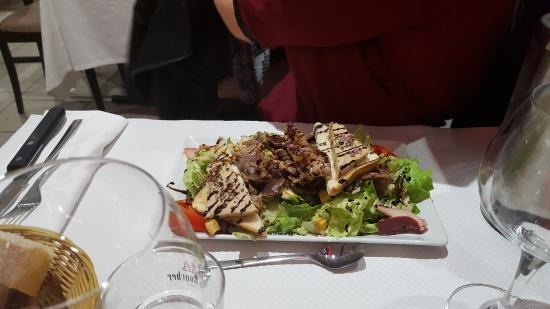 Saint-Sulpice-et-Cameyrac, ฝรั่งเศส: assiette du terroir
