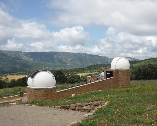 Ager, Spanje: panoramica observatorio