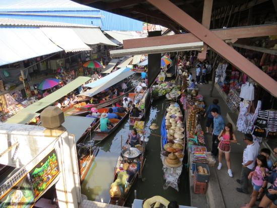 experience ultimate local floating market boat tour
