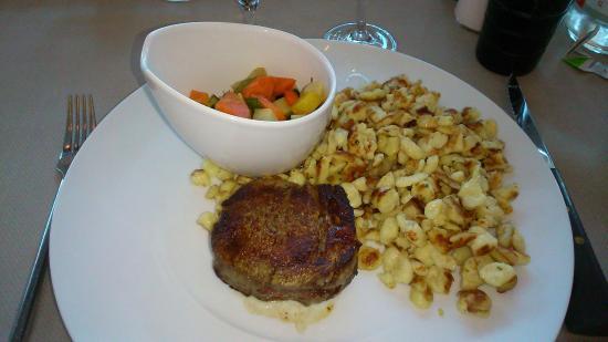 La Brasserie du Resort : filet de boeuf