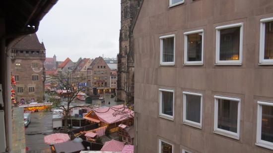 Lorenz Hotel Zentral : Vista desde la habitación