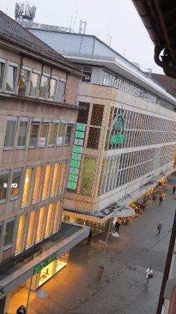 Lorenz Hotel Zentral : Vista desde la habit.