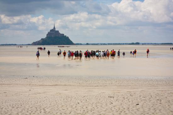 Sport Evasion Mont Saint Michel - Day Tours: Le Mont Saint Michel les traversées de la baie