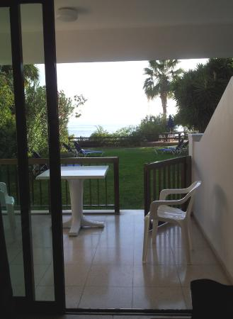 Rododafni Beach Holiday Apartments & Villas: View From Apartment