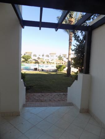 Poinciana Sharm Resort & Apartments: my terrace view