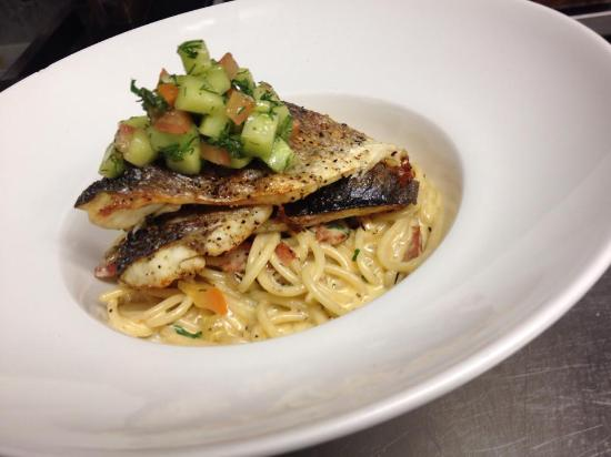 Chekkers: Grilled SeaBass