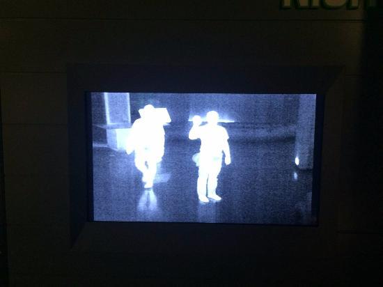 Fort Pierce, FL: Blick durch ein Nachtsichtgerät