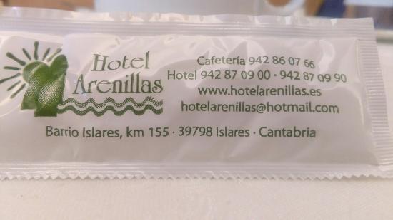 Islares, Spanyol: Restaurante Hotel Arenillas