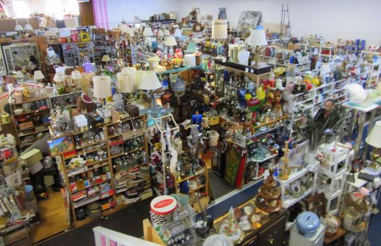 pink elephant antique mall Inside of the mall   Picture of Pink Elephant Antique Mall  pink elephant antique mall