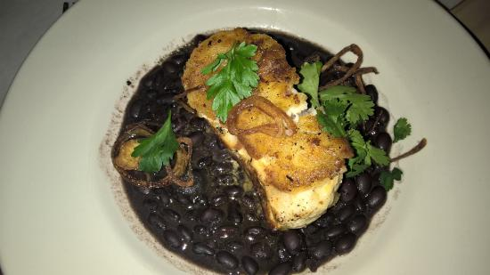 Spanish River Grill: My yuca crusted fresh fish