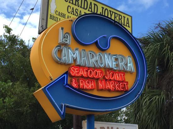 Pan con minuta picture of la camaronera fish market for La fish market
