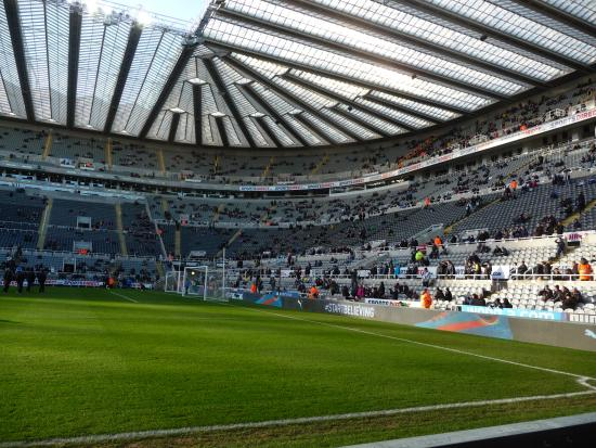 Inside St.James Park before the kickoff the game - Picture of St James
