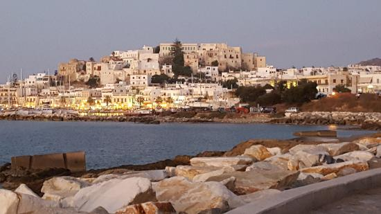 Naxian Collection: View of the lovely town of Naxos
