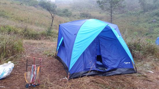 Doi Luang Chiang Dao Tent at the summit & Tent at the summit - Picture of Doi Luang Chiang Dao Chiang Dao ...
